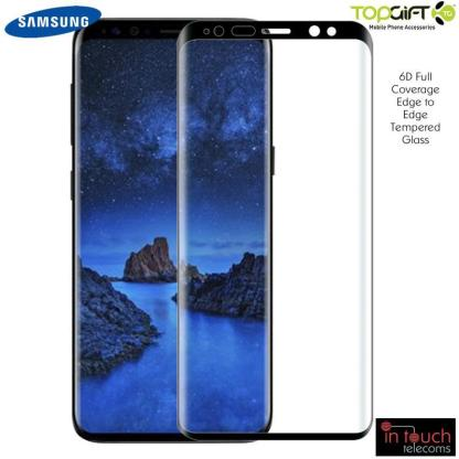 TopGift Full Coverage 6D Tempered Glass for Samsung Galaxy S20 Ultra | Screen Protection