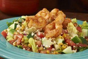 Margaritas | coconut shrimp salad