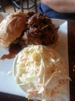 The Farm | pulled pork and coleslaw