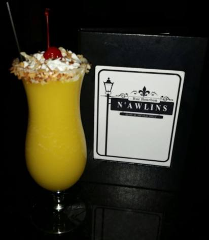N'Awlins | Pine apple upside down cake cocktail