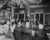 President Taft in 1912. Far left, third person facing camera.