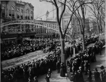 President Taft Motorcade in 1912