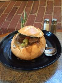 Waterworks Cafe | Beef Stew in a Bread Bowl