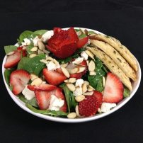 Bayona Cafe - Strawberry Spinach Salad