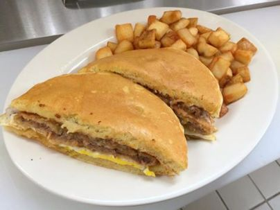 Red Arrow | Chicken-fried steak sandwich