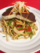 Bayona Cafe | Chinese Five Spice Seared Halibut