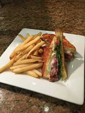 The Hilton Garden Inn | Flank Steak Sandwich