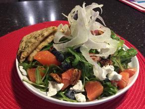Bayona Cafe   Blood Orange Arugula Salad