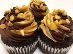 Baked | Peanut Butter Stuffed Cupcakes
