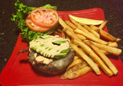 Bayona | Chipotle Ranch Burger