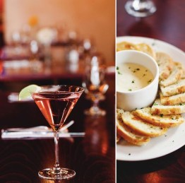 Firefly Bistro | Martini and Go-Go Bread