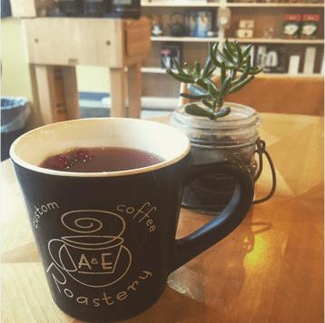 A&E Coffee and Tea | Cranberry apple cider
