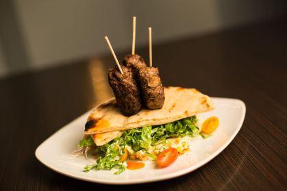 Mint Bistro   Mediterranean BBQ Lamb Skewers