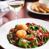 Firefly | Fried Goat Cheese Salad