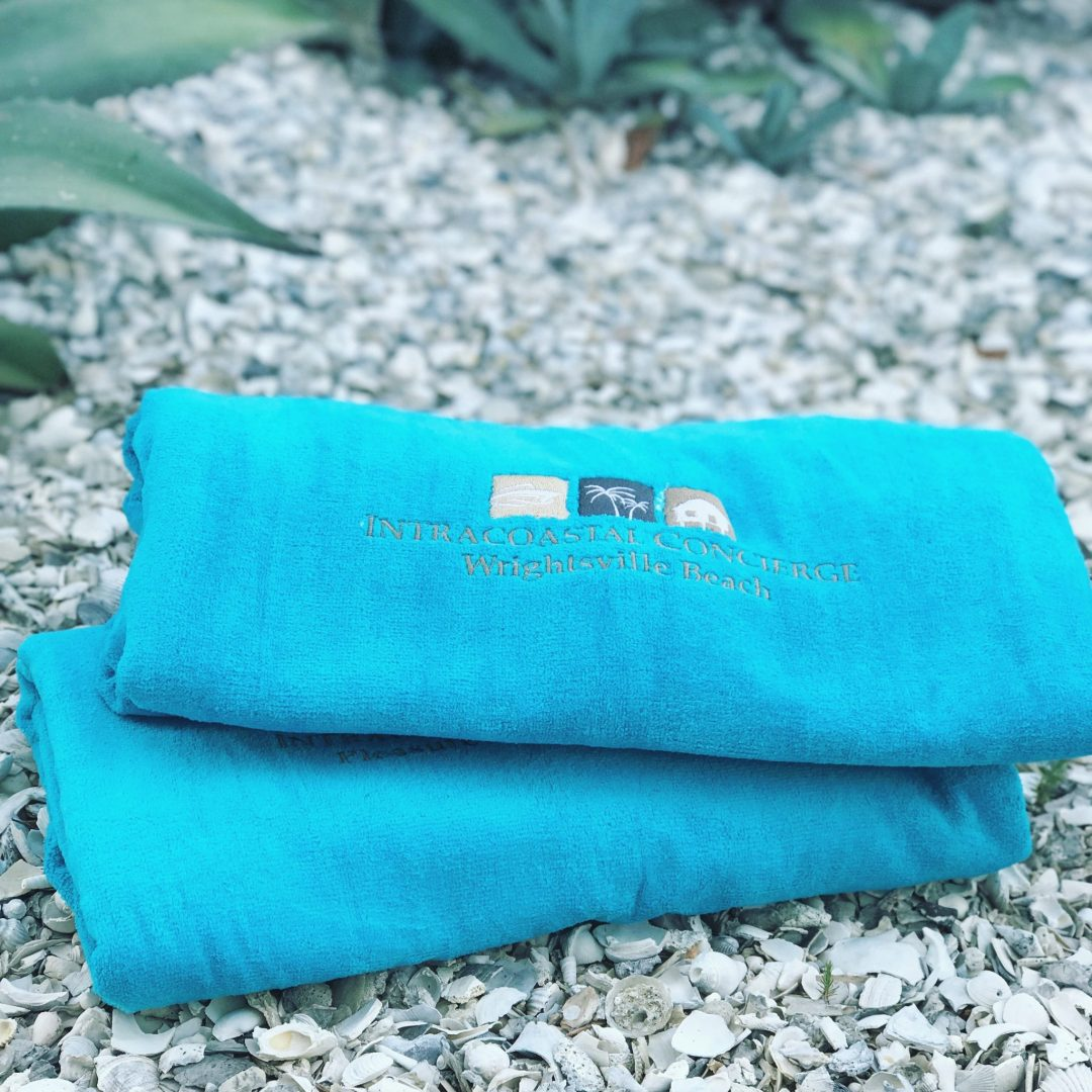 We love our custom towels. They make awesome souvenirs.