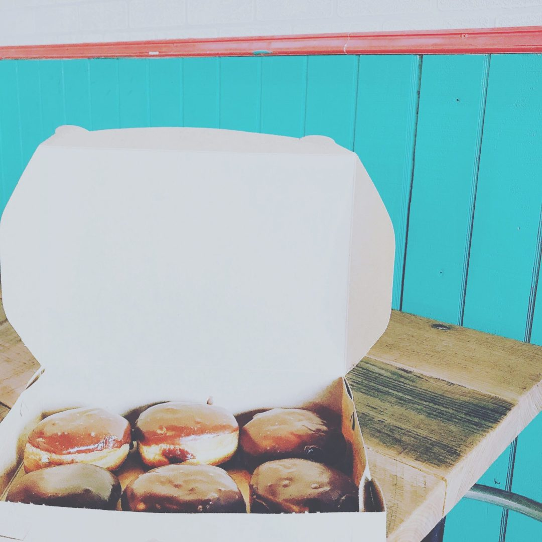 Donut delivery? Yes please! Our clients over at Figure Eight Island sure are lucky.