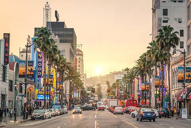 Blvd Sunset Angeles Map Los