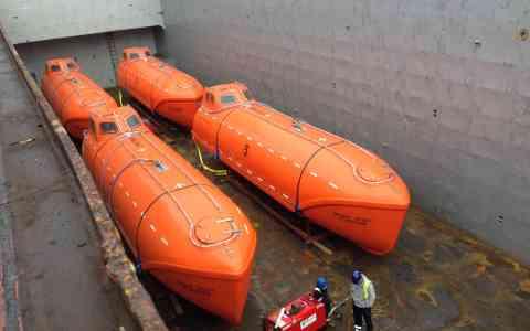 Scot Isles - Lifeboats - Peterhead