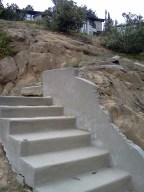 Won't be climbing these stairs.