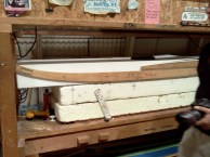Beginning of surfboards