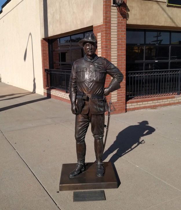 Teddy Roosevelt Sculpture