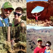 Four National Parks visited in 2016