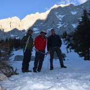 ice axes on Mount Whitney