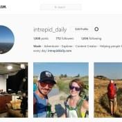 instagram for adventure
