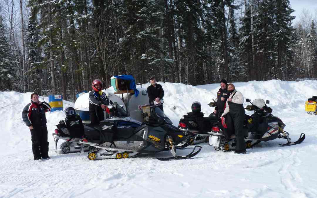 Snowmobile Moosonee Ontario Tour