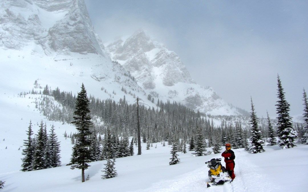 Snowmobile Crowsnest Pass Alberta Tour Planner