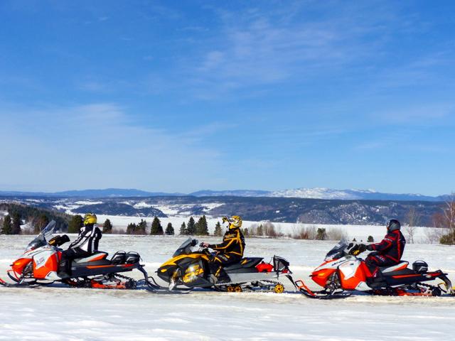Saguenay Lac St Jean Snowmobile Tour