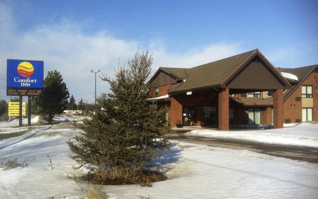 Comfort Inn Barrie Ontario Snowmobile Tour