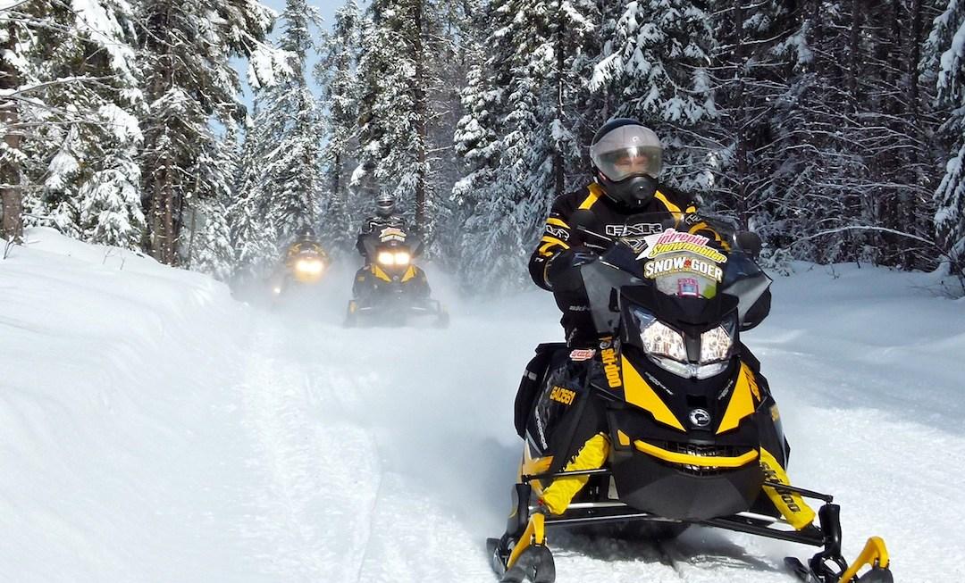 Snowmobile Abitibi Témiscamingue Quebec Tour