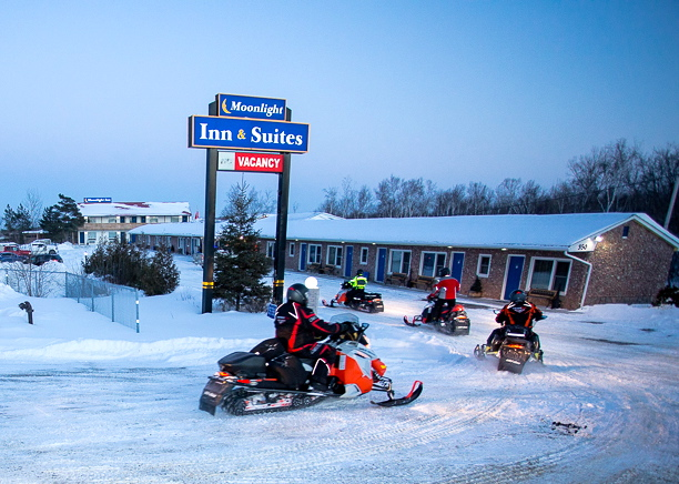 Moonlight Inn Sudbury Best Snowmobile Staging Motel