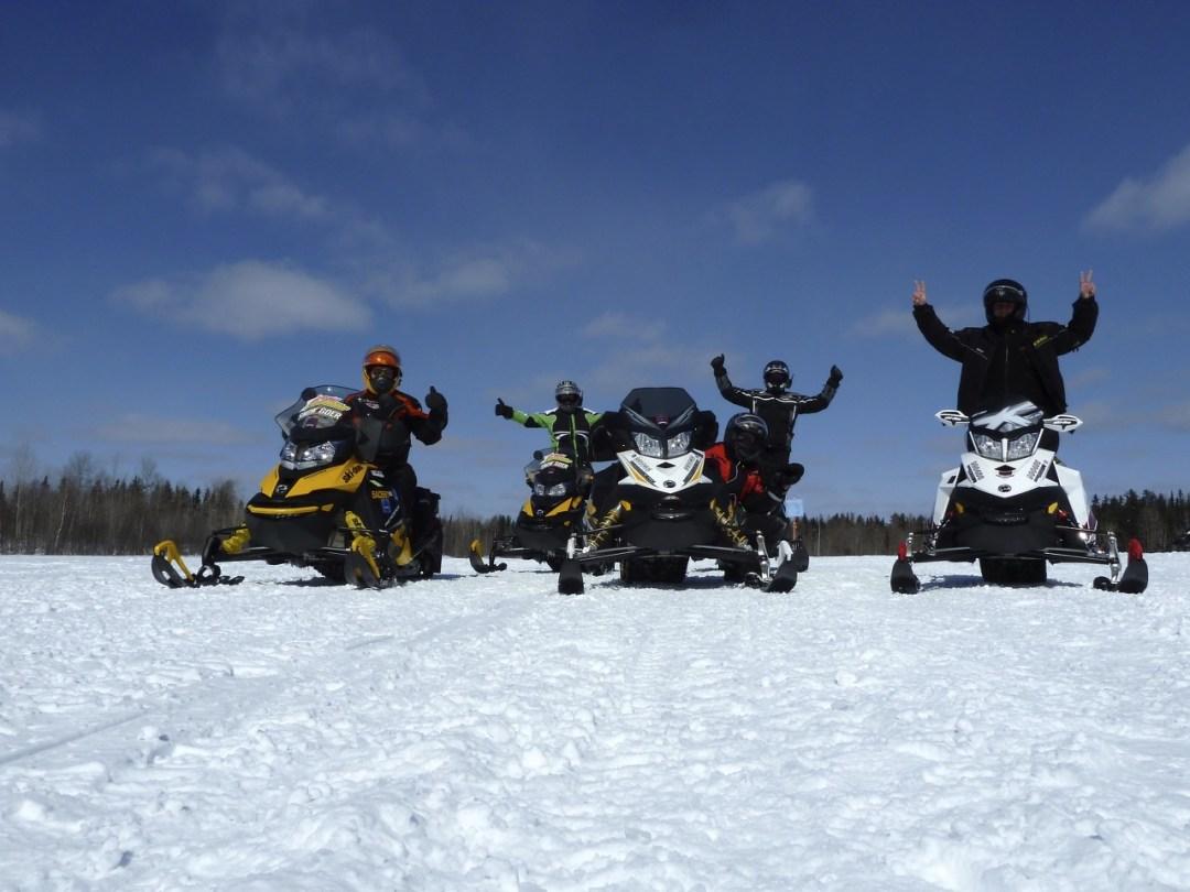 buy used snowmobiles