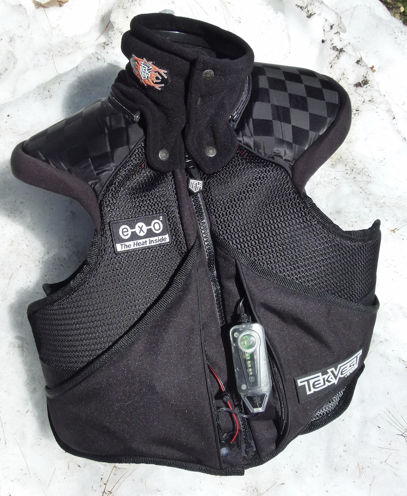 reduce snowmobiling risks with a Super Sport TekVest