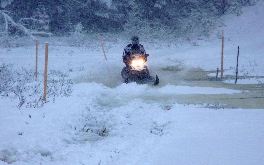 Snowmobile Or Not After Lousy Weather