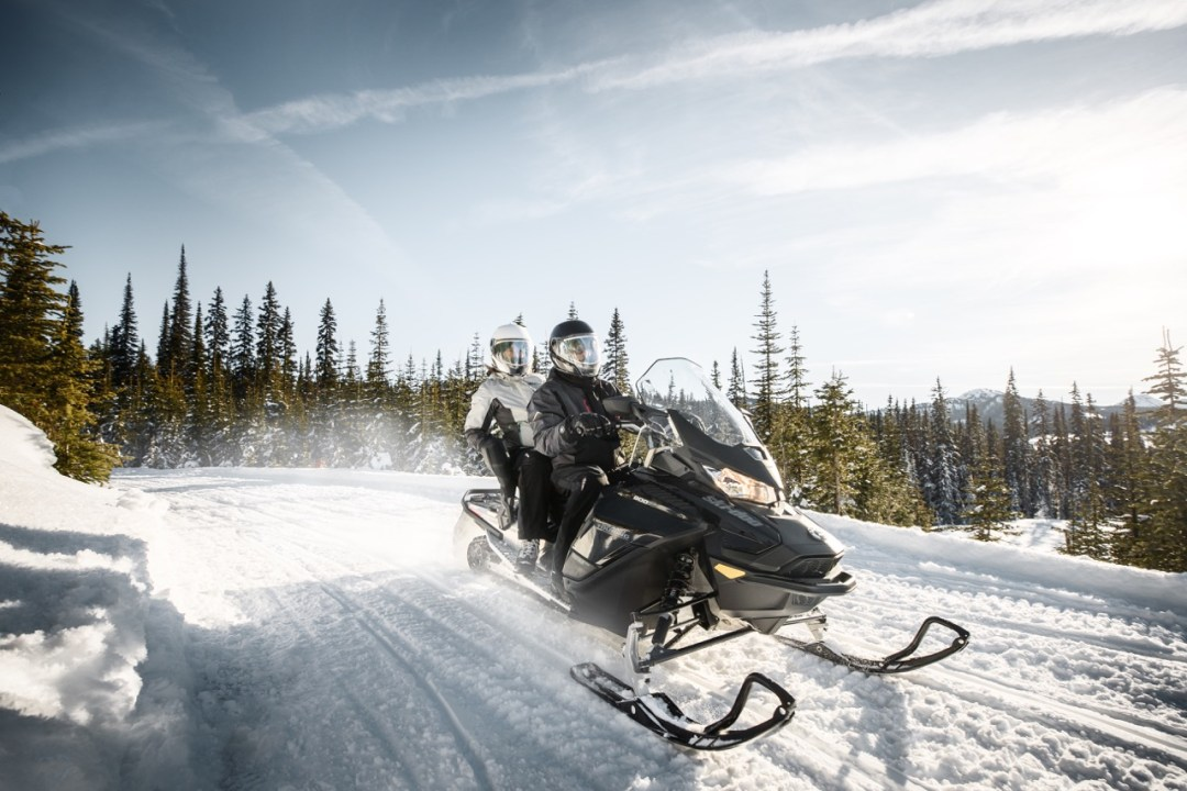 right snowmobile for two riders