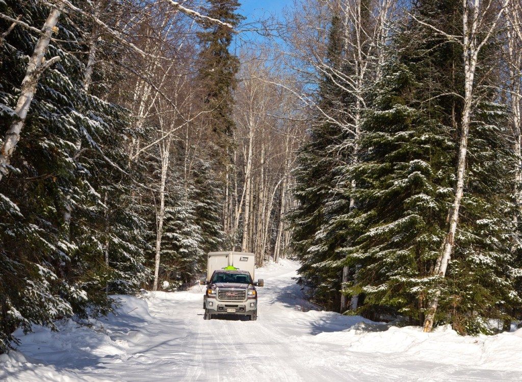 own a snowmobile trailer enables you to go places