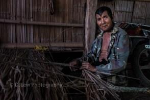 Ai Bian, 58 yrs old, Kongge minority from Manbayao village