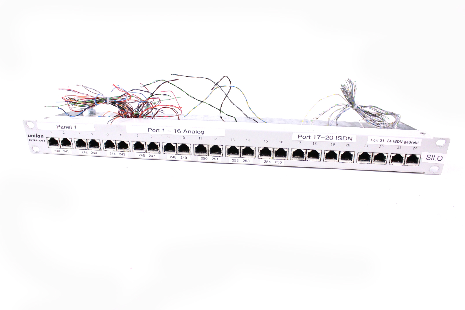 Telegartner Unilan Cs 24 8 Cat6 Patch Panel 24 Port 1 He