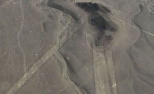 линии, пересекающие препятствия пустыня Наска