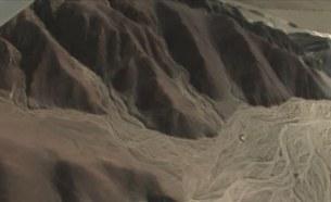 следы селевого потока плато Пальпа