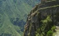 Уайна Пикчу - постройка на отвесных скалах