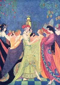 Elenore Abbott illustration the shoes that were danced to pieces
