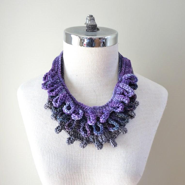 accent 3 scarf combo purple