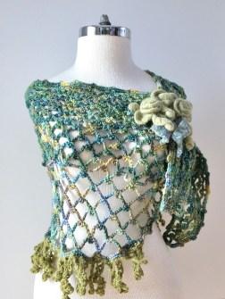 rose-lace-shawl-green