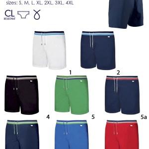 мужские пляжные шорты картинка