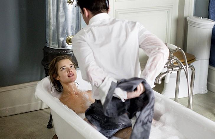 секс в ванной