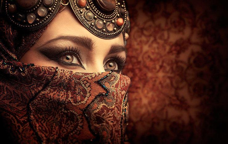 какие они красивые арабские девушки